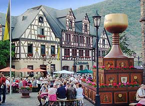 Rotweinfest Oberwesel